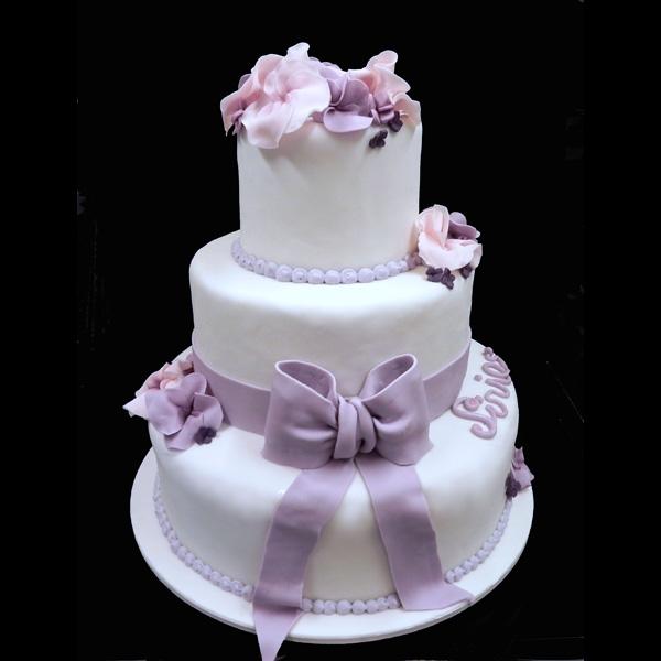 Favoloso Torta di comunione torta decorata cresima ZP38