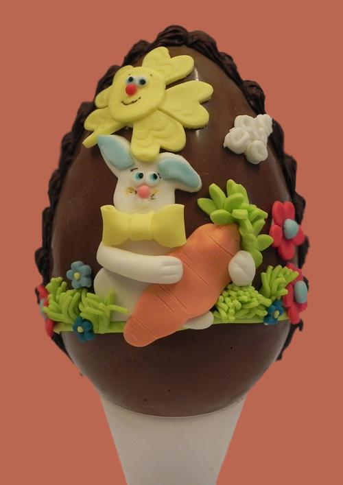 Uova di pasqua artigianali dolci di pasqua pasticceria loppa grottaferrata - Uova di pasqua decorate per bambini ...