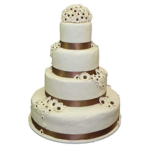 Torte nuziali americane wedding cake for Pasta di zucchero decorazioni